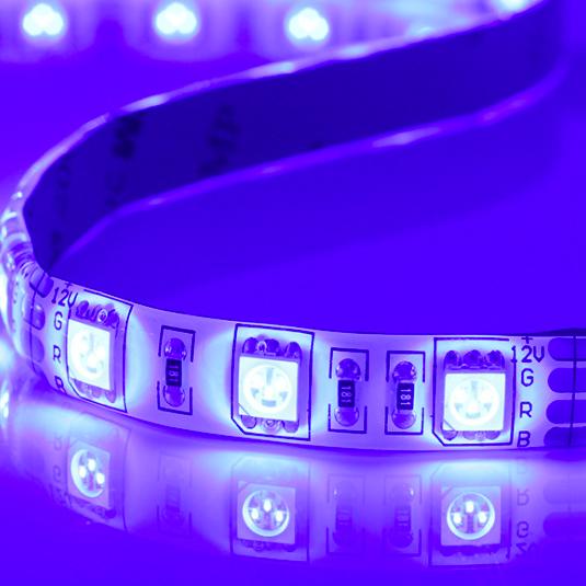 UV Color LED Strip Light
